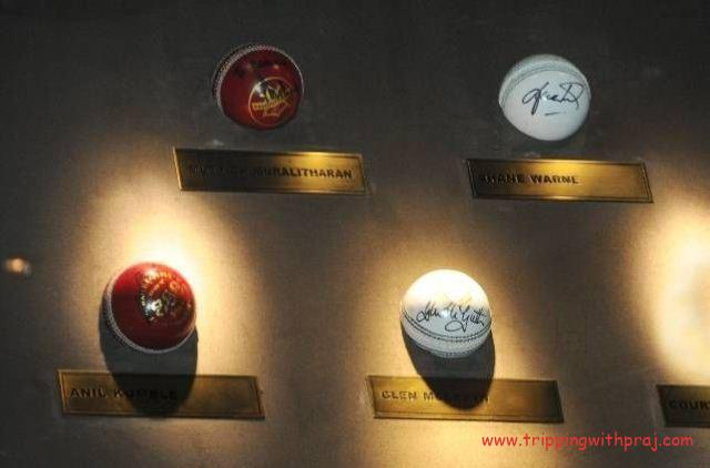 Blades of Glory Museum - Autographed Balls by World's Top Bowlers