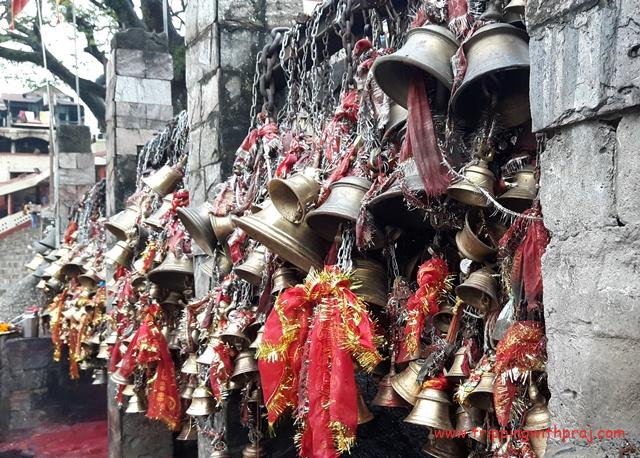 A day in Guwahati - Bells in the Kamakhya Temple