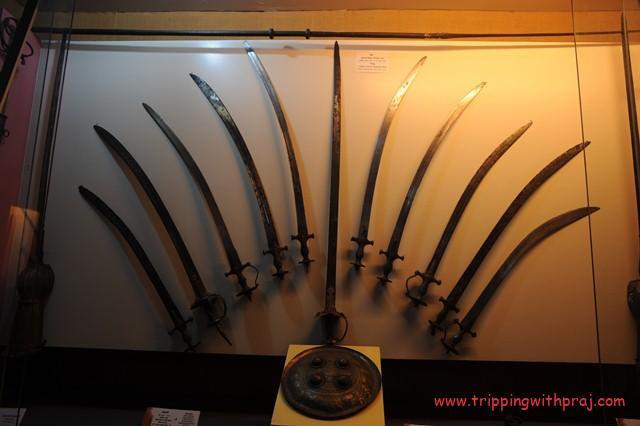 Raja Dinkar Kelkar Museum -  Armour Gallery