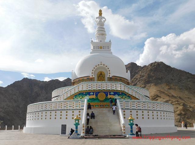 Shanti Stupa - Leh