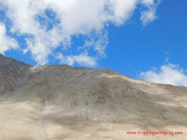 Barren Mountain ranges - An identity of Ladakh