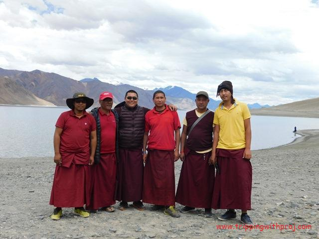 Ladakh Travel Guide - A click with the Lamas