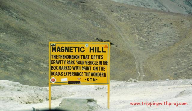 Ladakh Travel Guide - Magnetic Hill
