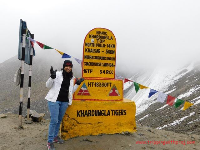 Ladakh Travel Guide -  Khardung La - Highest Motorable Road in the World