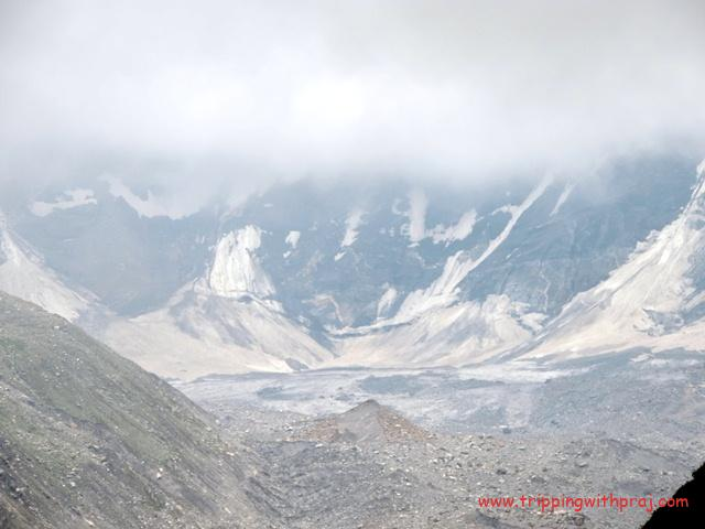 View of the Lahaul Valley from the Hampta Pass