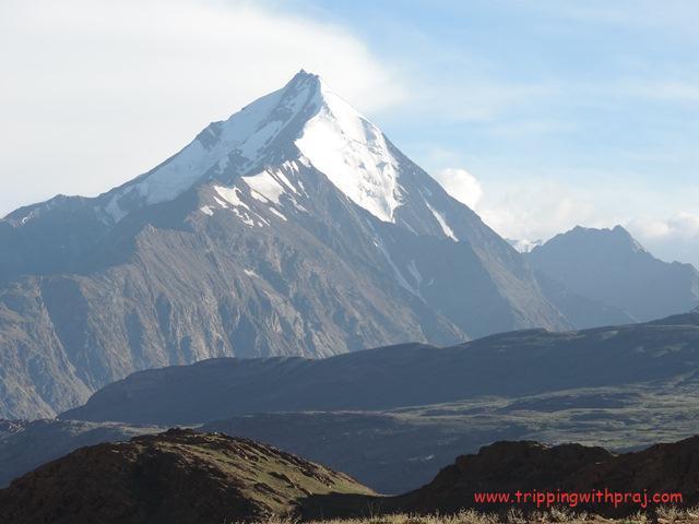 Hampta Pass Trek - Snow clad peaks enroute Manali