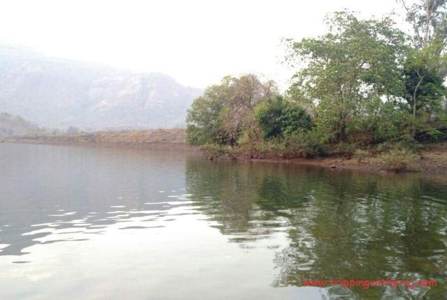 Andharban Night Trek - Calm waters of the Bhira Dam