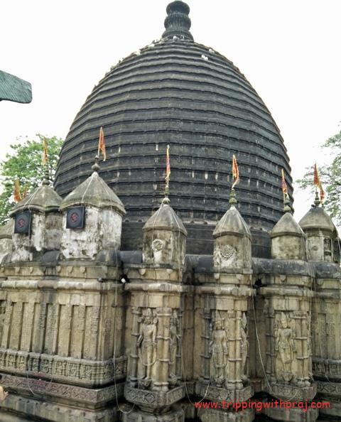 Exterior of the Kamakhya Temple