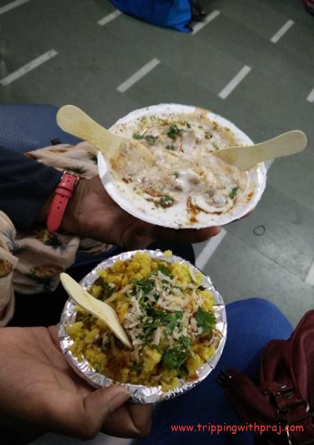 Indore Food Guide -  Joshi Dahi Bada & Bhutte ka Kees