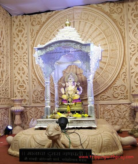 Pune Ganeshotsav - Manacha Dusra Ganpati - Tambdi Jogeshwari