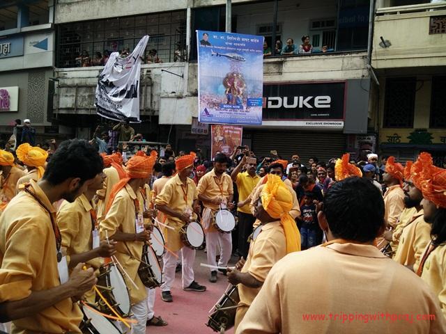 Pune Ganeshtosav - Echoing devotion with every dhol tasha beat