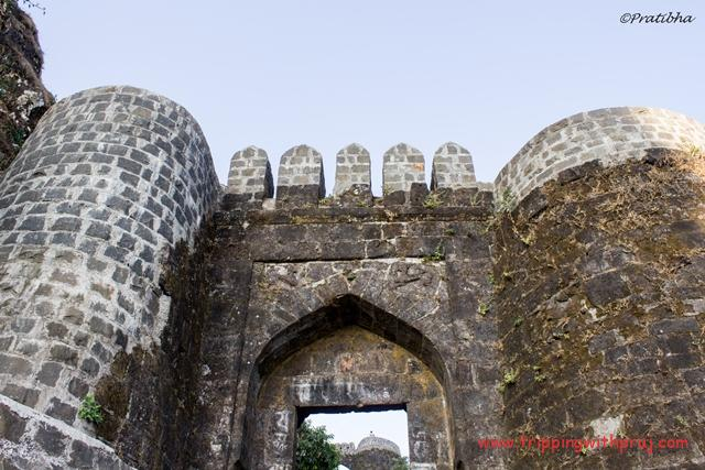 Places to visit in Pune - Sinhagad Fort Entrance