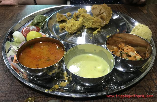 Indore Food Guide -  Daal Bafla