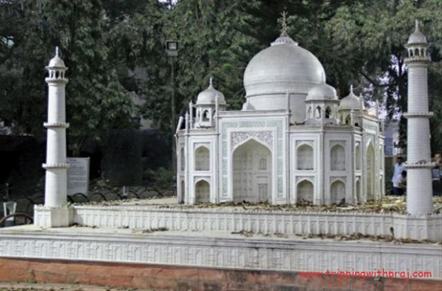 Miniature Taj Mahal at Yashwantrao Chavan Udyan