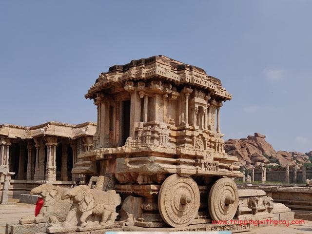 Stone Chariot - Vijaya Vittala Temple