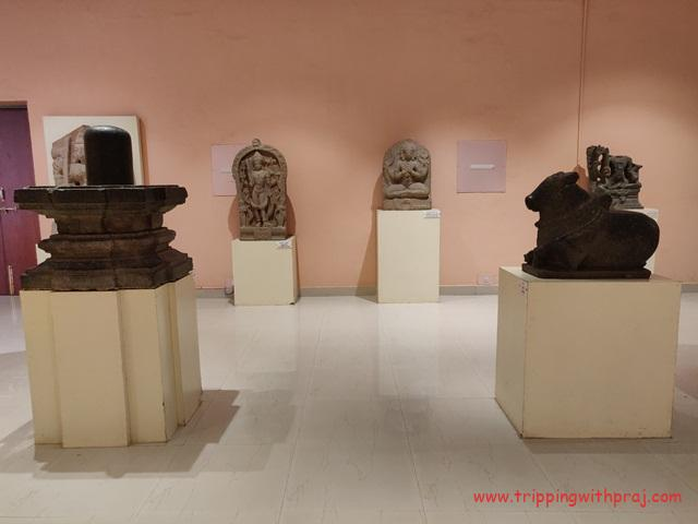 Stone sculptures at the Archaeological Museum