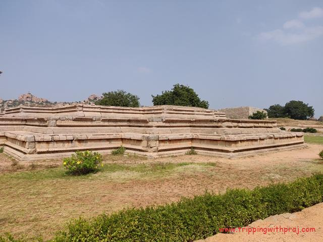Places to visit in Hampi - Zanana Enclosure