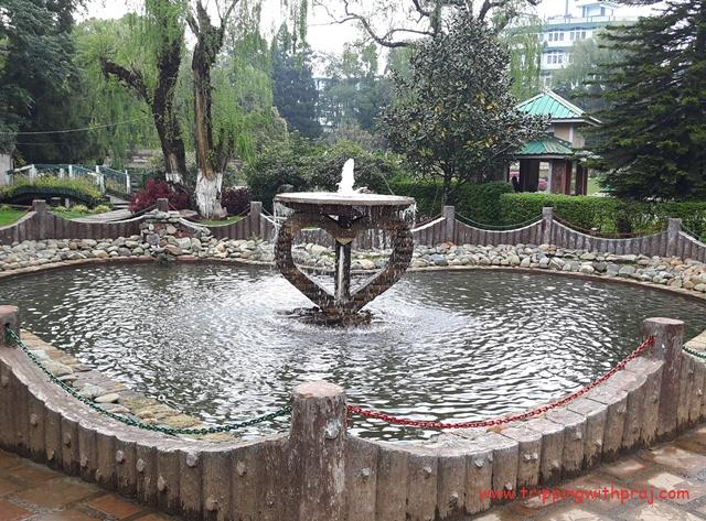 Fountain in Lady Hydari Park & Zoo