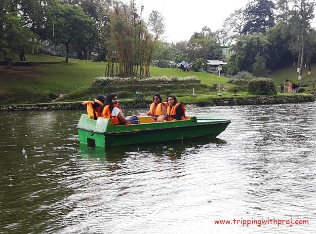 A Guide to Meghalaya - Boat ride at Ward's Lake