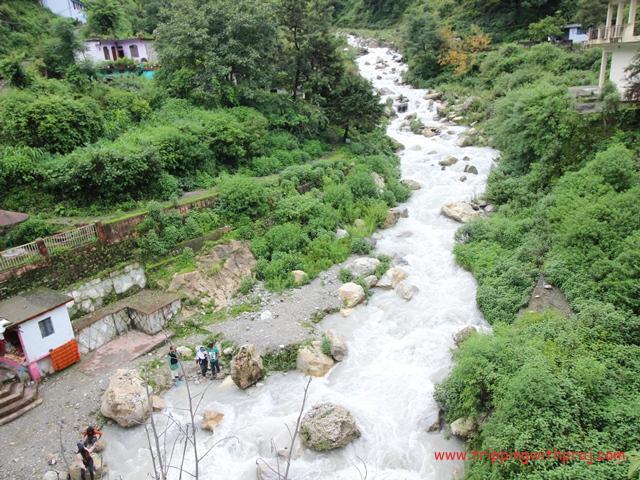 Huge Waterfall also known as Garud Ganga