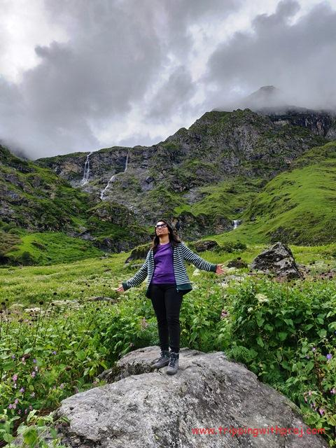 Enjoying in the Spectacular Valley of Flowers